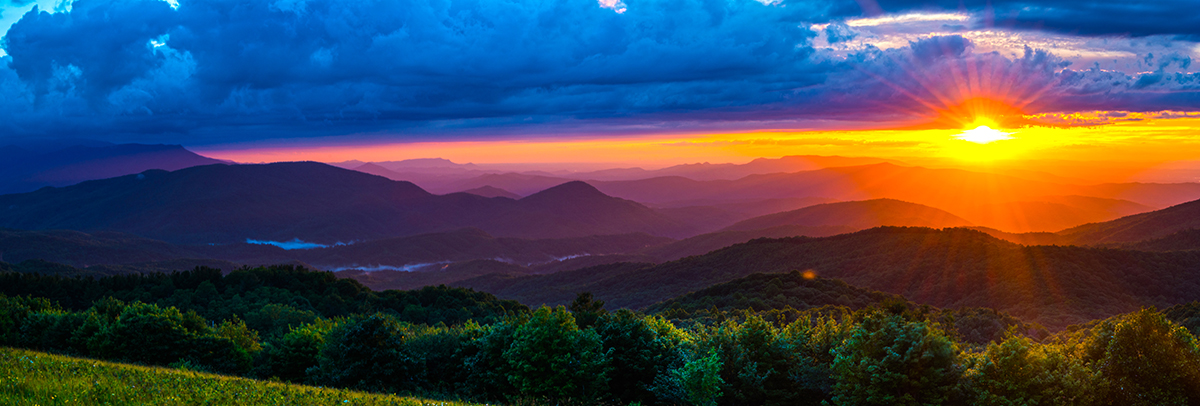 Sunset from Max Patch