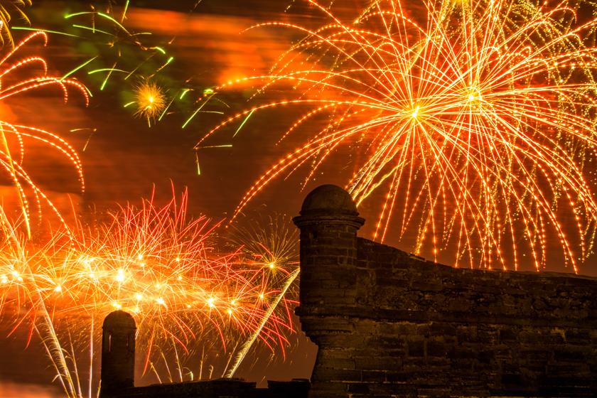 Castillo de San Marcos 4th of July