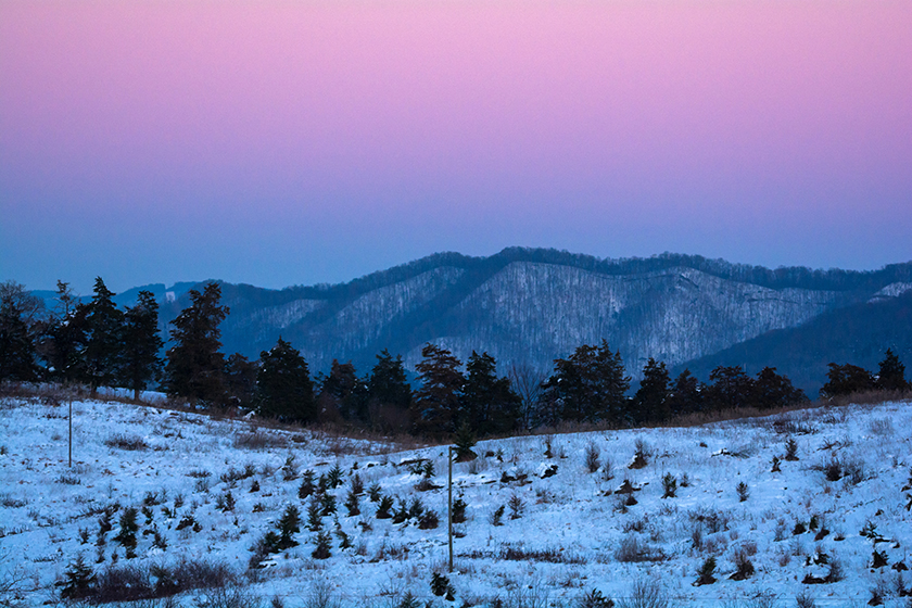 A Blue Ridge Winter