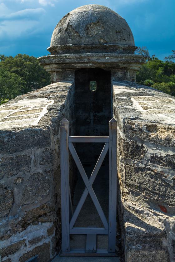 Tower at Castillo de San Marcos