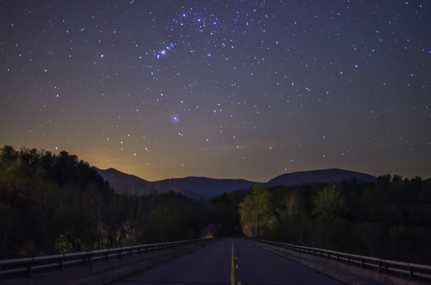 Stars Over the Blue Ridge Parkway