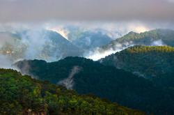 Layers of Blue Ridges