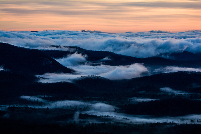 Blue Ridge Cloud Inversion