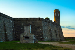 Dusk at Castillo