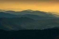Sunset at Grayson Highland