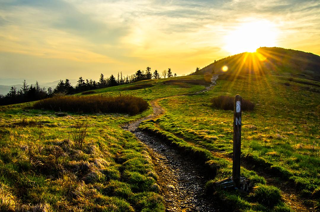 Sunrise Along the Appalachian Trail