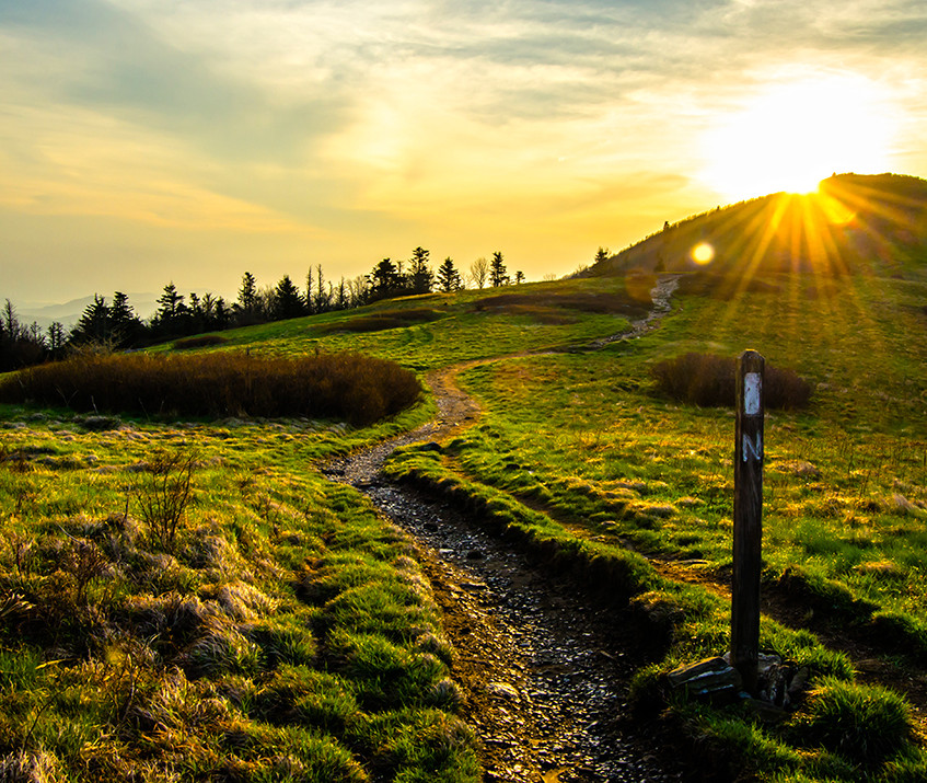 Sunrise Along the Appalachian Trail