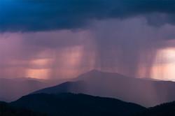 Purple Rain - Blue Ridge Parkway - NC
