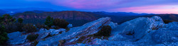 Blue Hour at Linville Gorge-Pano