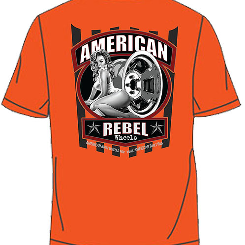 American Rebel Pocket Tee - Orange