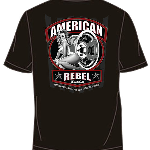 American Rebel Pocket Tee - Black
