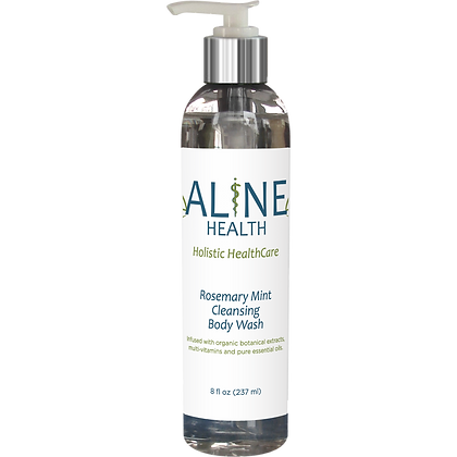 Rosemary Mint Cleansing Body Wash 8oz