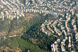 שכונת שמבור ונחל אזוב בחיפה