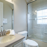 Hall bath for kids and queen room