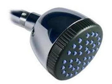 H2O International Shower Head Filter Single Spray Chrome