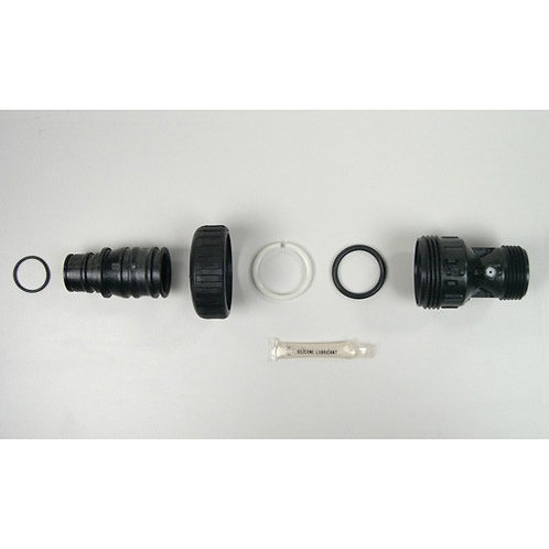 """Clack Drain Fitting with Silencer 1"""" WS1 Valve"""