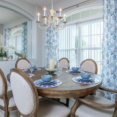 Formal dining area