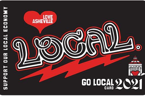 2021 Go Local Card
