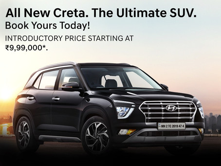 Bookings Open for the All New CRETA – The Ultimate SUV