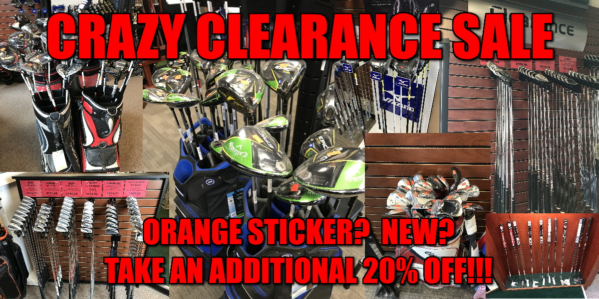 Golf Clearance Sale