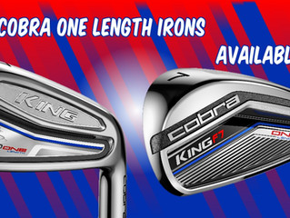 Cobra One Length Irons!