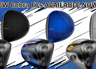 NEW Cobra F7s AVAILABLE NOW