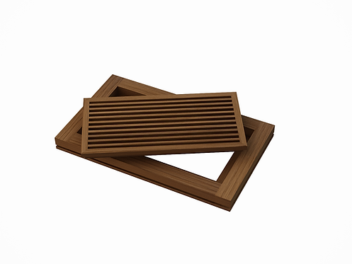 AB FLOOR GRILLE - WHITE OAK