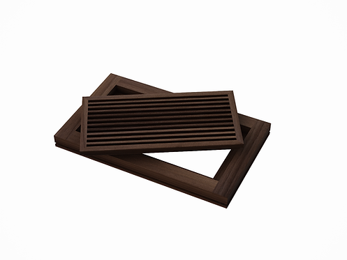 AB FLOOR GRILLE - WALNUT