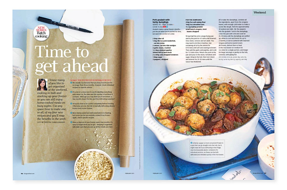 Tonia shuttleworth design good food magazine forumfinder Image collections