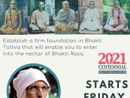 BHAKTI BASICS - AN ONLINE COURSE