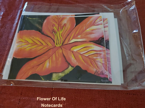 Flower Of Life Notecards