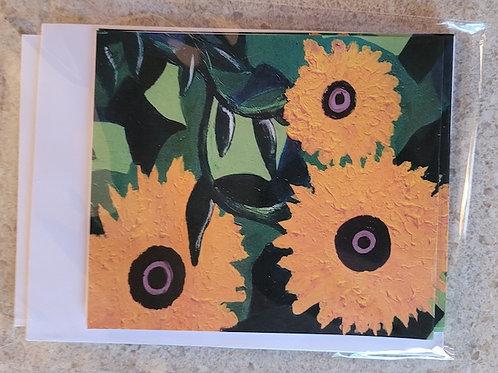 SunFlowers Notecards