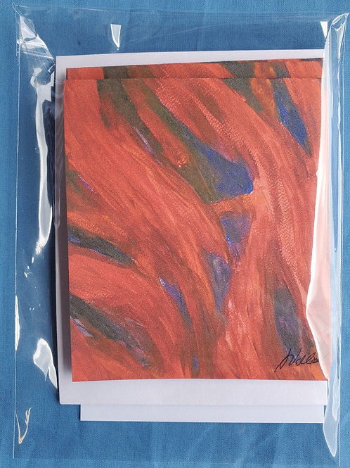 Flames Notecards