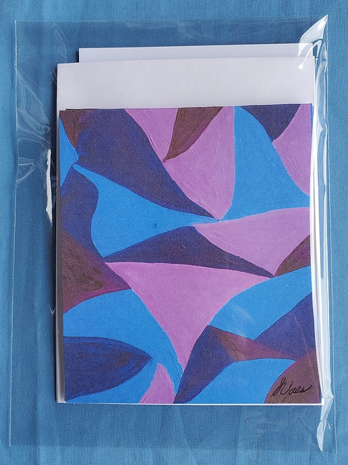 Blue/Purple Notecards