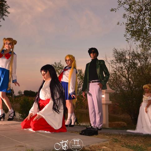 sailor moon shintoism san marino jinja friendship mamoru chiba rei hino miko cosplay