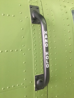 Exterior Handhold