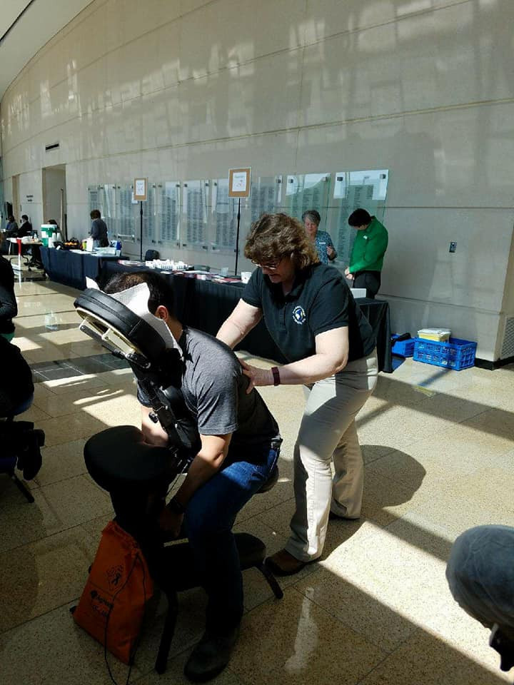 Student Chair Massage