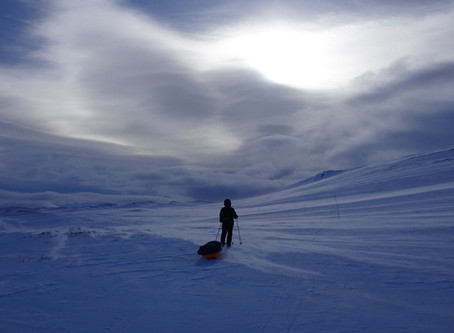 570KM Pulling A Sledge Across The Greenland Ice Cap