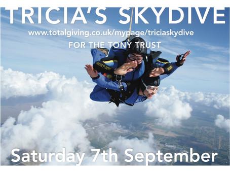 Tricia's Skydive