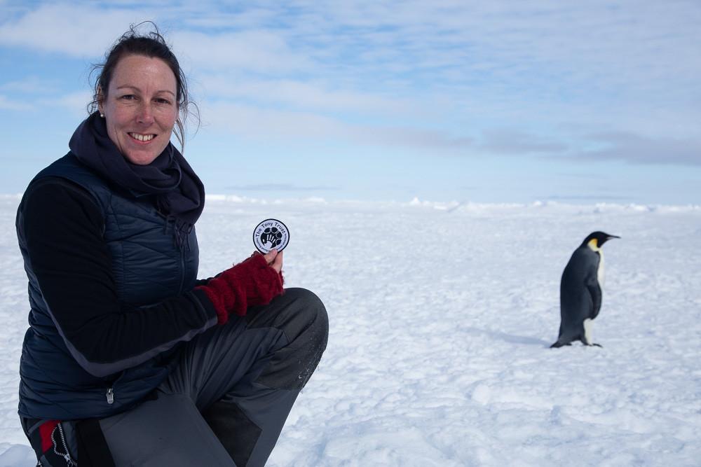 Tamara on the Weddell Sea