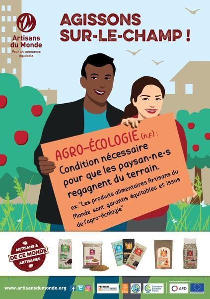 """Expo-vente/ Festival AlimenTerre 2018            """"Agissons sur le champs"""""""