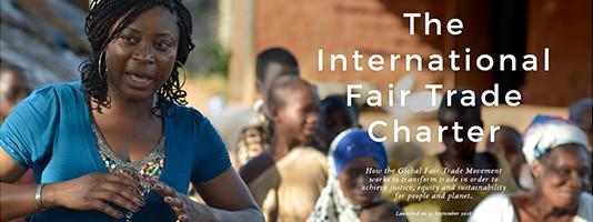 Une nouvelle charte internationale pour le commerce équitable !