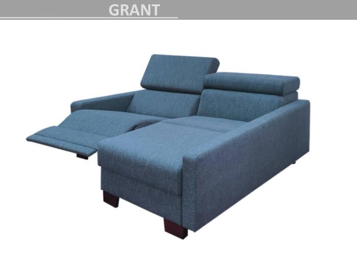 sedačka do L GRANT polohovací - relaxační otoman + 1