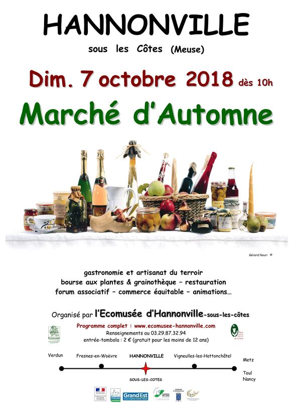 20e Edition du marché d'automne de l'Ecomusée d'Hannonville