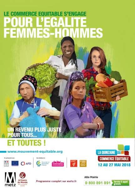 Samedi 26 mai de 9h à 14h - Grand marché équitable et solidaire