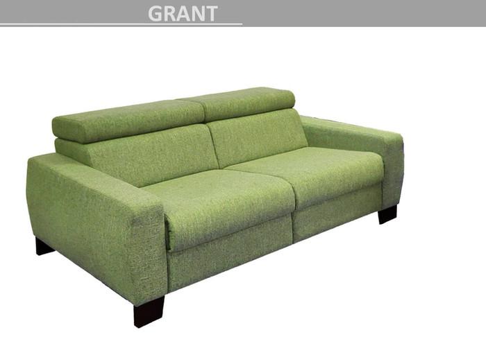pohovka polohovací Grant - relax zelenkavá