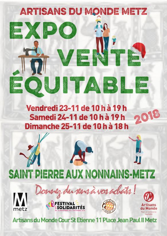 Venez nombreux à notre Expo Vente à Saint Pierre Aux Nonnains-Metz les 23-24 et 25 Novembre