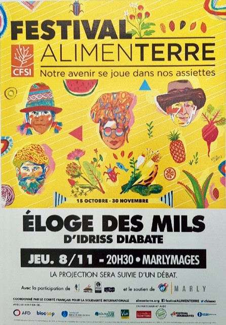 Festival ALIMENTERRE  vous présente ÉLOGE DES MILS