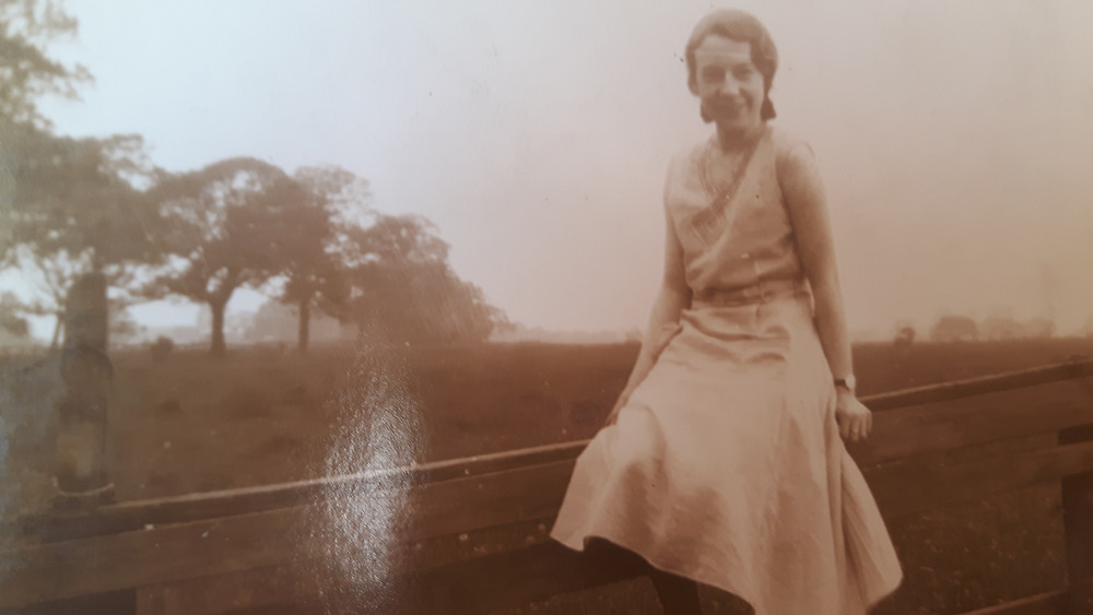 My gran, May Lowe, in 1936 when she worked in Manchester