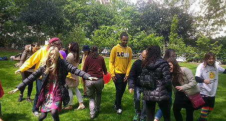 World Laughter Day in London at Embankment